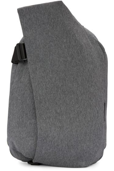 Côte & Ciel - Grey Eco Yarn Medium Isar Backpack