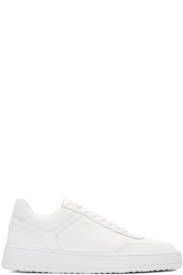 ETQ Amsterdam - White Low 5 Sneakers