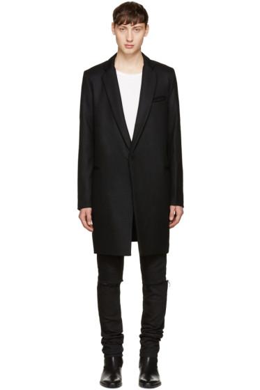 Christian Dada - Black Wool Coat
