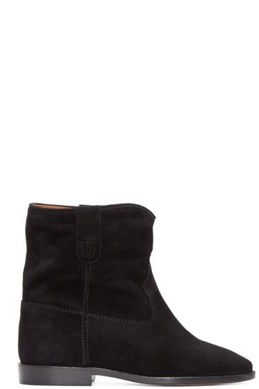 Isabel Marant - Black Suede Crisi Boots