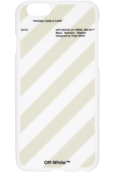 Off-White - White Stripes iPhone 6 Case