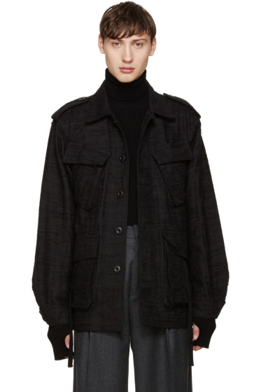 Johnlawrencesullivan - Black Unravelling Jacket