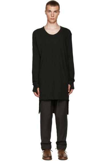 Nude:mm - Green Overlong T-Shirt