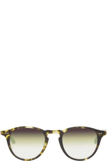 Garrett Leight - Tortoiseshell Mirrored Hampton Sunglasses