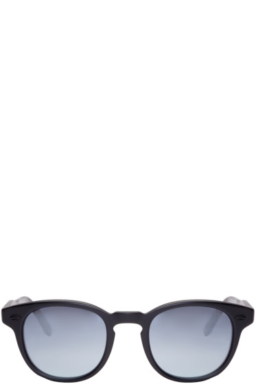 Garrett Leight - Black Warren Sunglasses