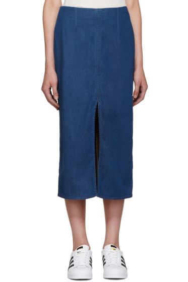 Won Hundred - Blue Denim Debra Skirt