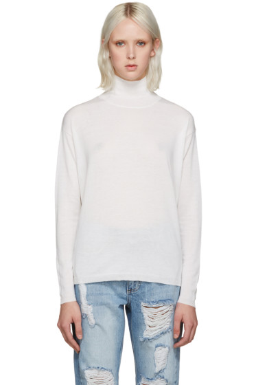 Won Hundred - Ivory Mock Neck Live Sweater