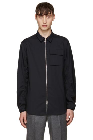 OAMC - Navy Wool Aviator Shirt
