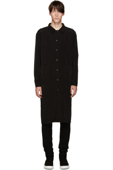 D by D - Black Long Zip Shirt