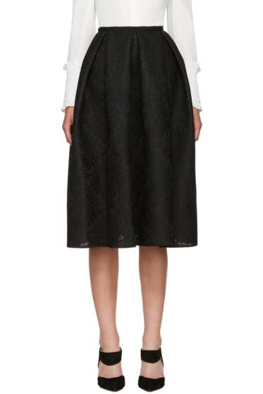 Erdem - Black Mesh Lace Kit Dress