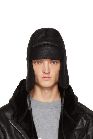 Gosha Rubchinskiy - Black Chapka Hat
