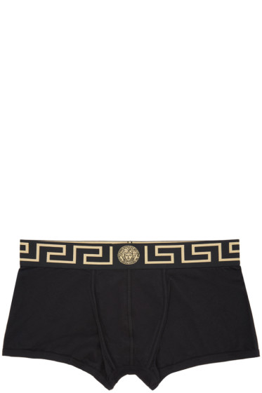 Versace Underwear - Black Boxer Briefs