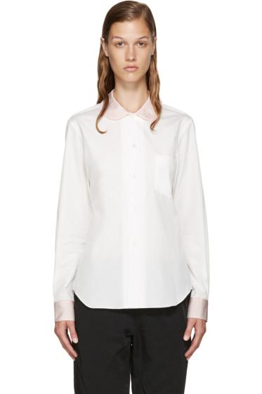 Comme des Garçons Girl - White Contrast Shirt