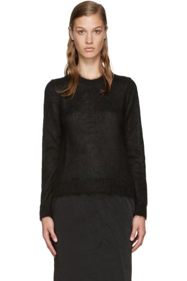 Comme des Garçons Comme des Garçons - Black Mohair Sweater