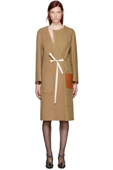Loewe - Tan Split Coat
