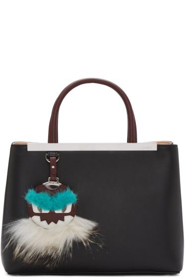 Fendi - Black Petite 2Jours Bag