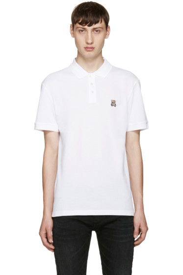 Moschino - White Teddy Bear Polo
