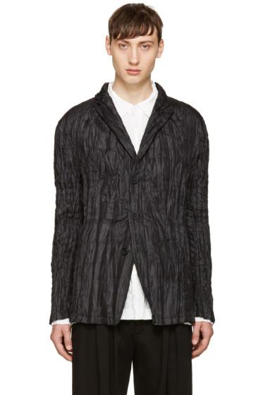 Issey Miyake Men - Reversible Black Down Torus Jacket