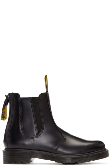 Y's - Black Dr. Martens Edition Chelsea Boots