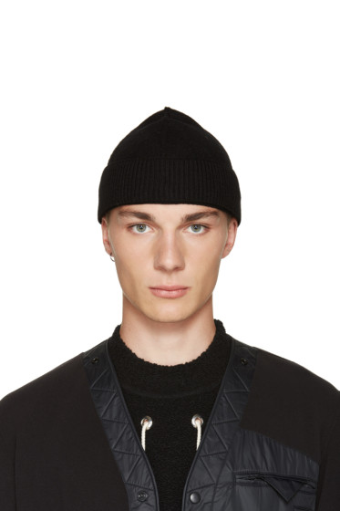 Craig Green - Black Merino Beanie