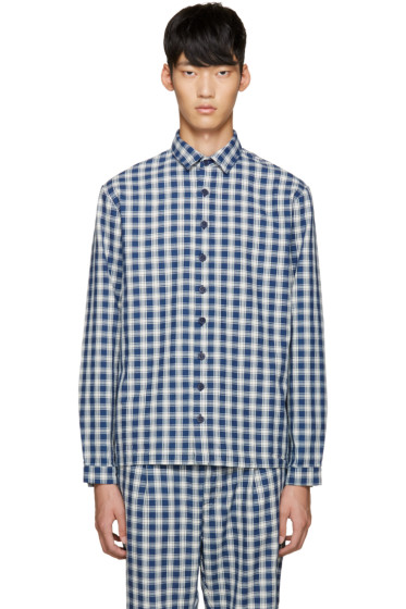 Sunnei - Blue Check Classic Shirt