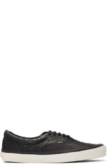 Vans - Black WTAPS Edition OG Era LX Anaconda Sneakers