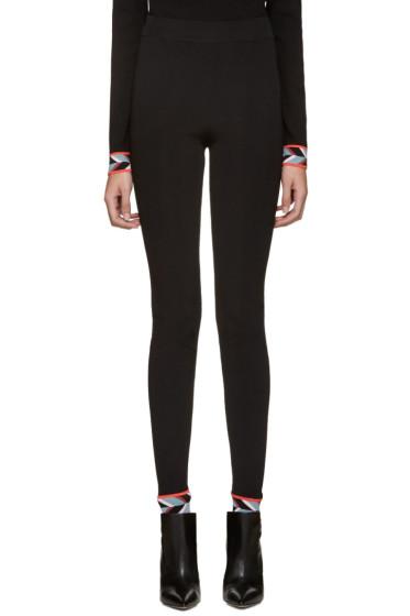 Emilio Pucci - Black Iconic Leggings