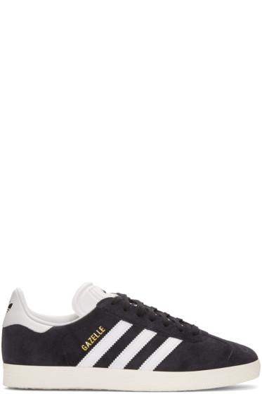 adidas Originals - Black OG Vintage Gazelle Sneakers