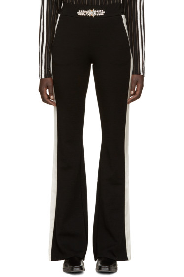Wales Bonner - Black Swarovski Angelo Lounge Pants