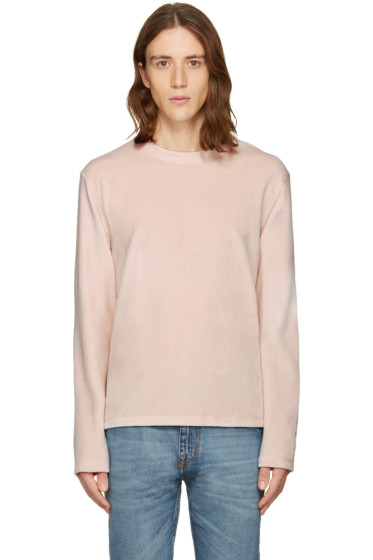 Fanmail - Pink Velour Pullover