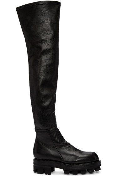 Alyx - Black Tank Over-The-Knee Boots