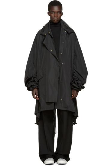 Ports 1961 - Black Oversized Coat