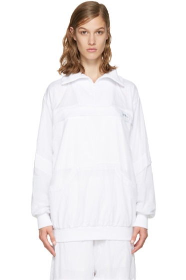 Perks and Mini - White Batwing Track Jacket