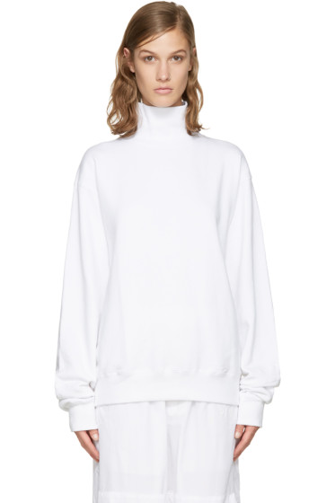 Perks and Mini - White Activate Pullover