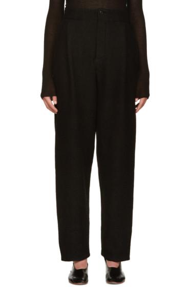 Nehera - Black Pince Trousers