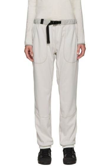 and Wander - Off-White Belted Lounge Pants