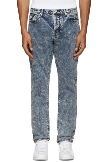 Han Kjobenhavn - Blue Acid Wash Jeans