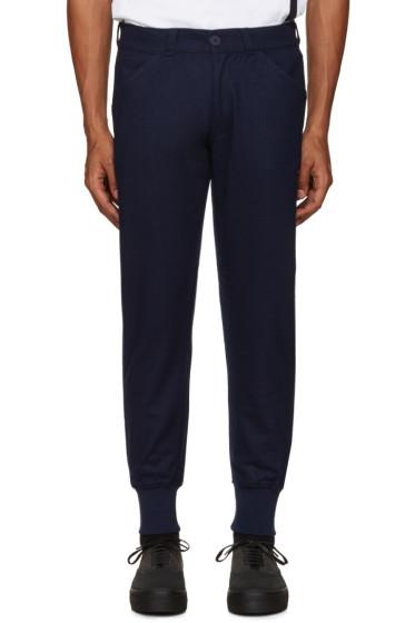 Han Kjobenhavn - Navy Wool Trousers