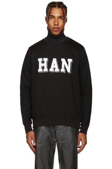 Han Kjobenhavn - Black Logo Pullover
