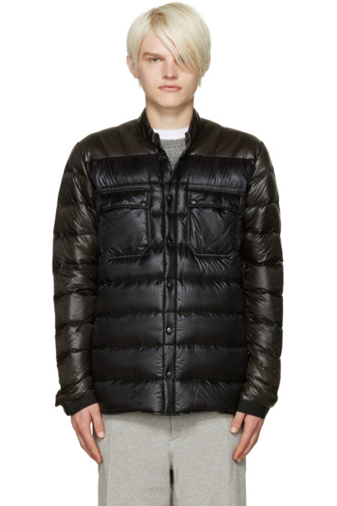 ISAORA - SSENSE Exclusive Green & Black Down Jacket