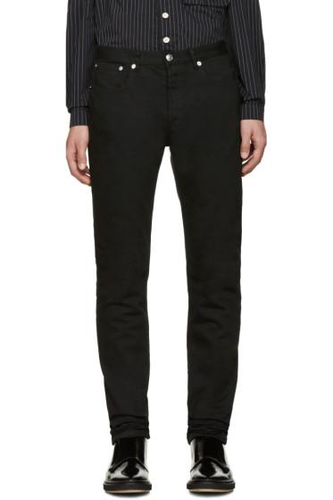 A.P.C. - Black Petit Standard Jeans