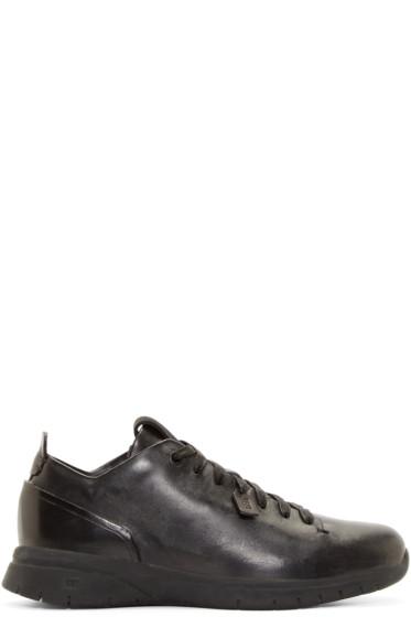 Feit - Black Leather Biotrainer Sneakers
