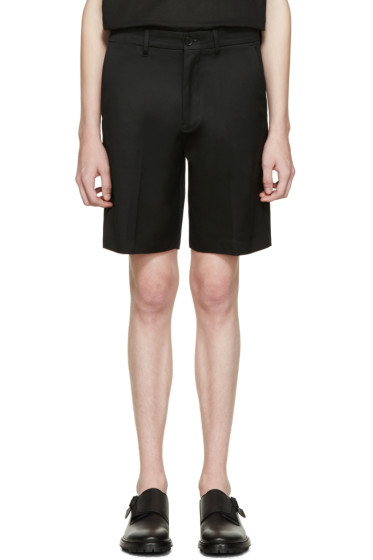 Acne Studios - Black Cotton Adrian Shorts