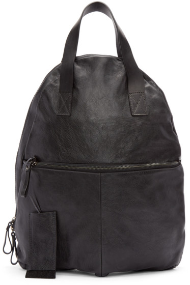 Marsèll - Black Leather Analaisa Backpack