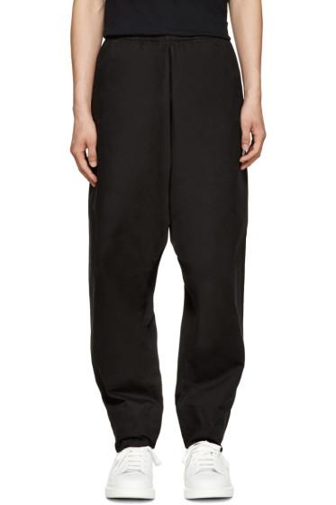 Marcelo Burlon County of Milan - Black Sarouel Guines Lounge Pants