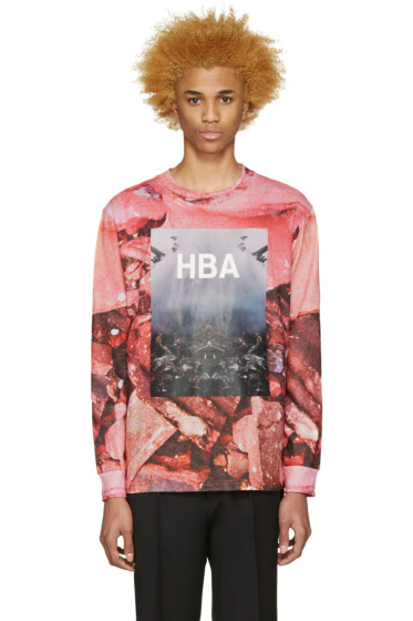 Hood by Air - Pink Overcome T-Shirt