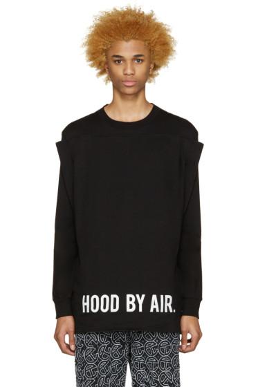 Hood by Air - Black Squared T-Shirt