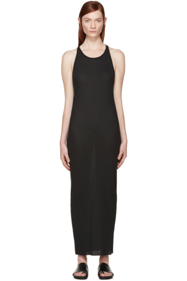 Boris Bidjan Saberi - Black Jersey Dress