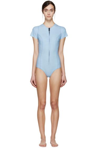 Lisa Marie Fernandez - Blue Denim Farrah Swimsuit