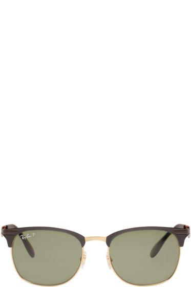 Ray-Ban - Black & Gold RB3538 Sunglasses